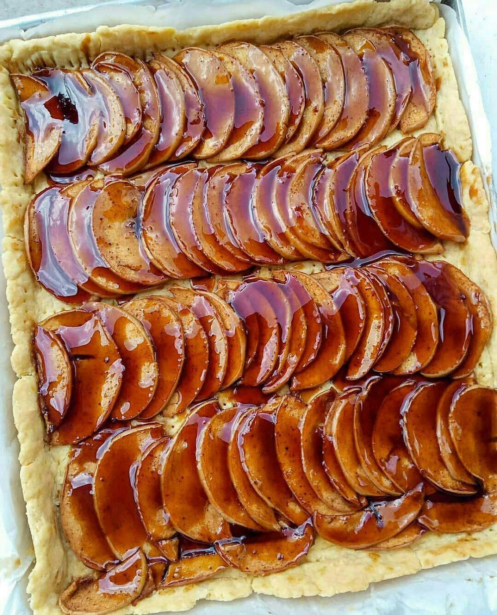 Resep apple pie instagram