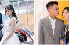 9 Potret prewedding Atries Angel mantan Chef Juna, elegan
