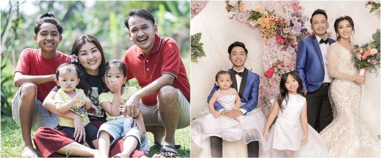 5 Foto pemotretan terbaru keluarga Ruben Onsu, seperti prewedding