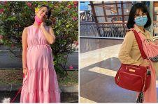 7 Potret terbaru Vanessa Angel tampil langsing usai melahirkan