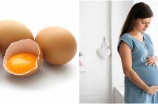 10 Manfaat telur bagi ibu hamil, bantu pertumbuhan otak janin
