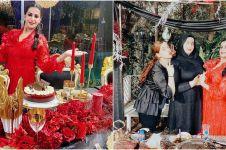 7 Momen ulang tahun ibu Tasya Farasya, glamor serba merah