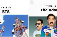 9Editan foto cover playlist musisi ini nyeleneh abis