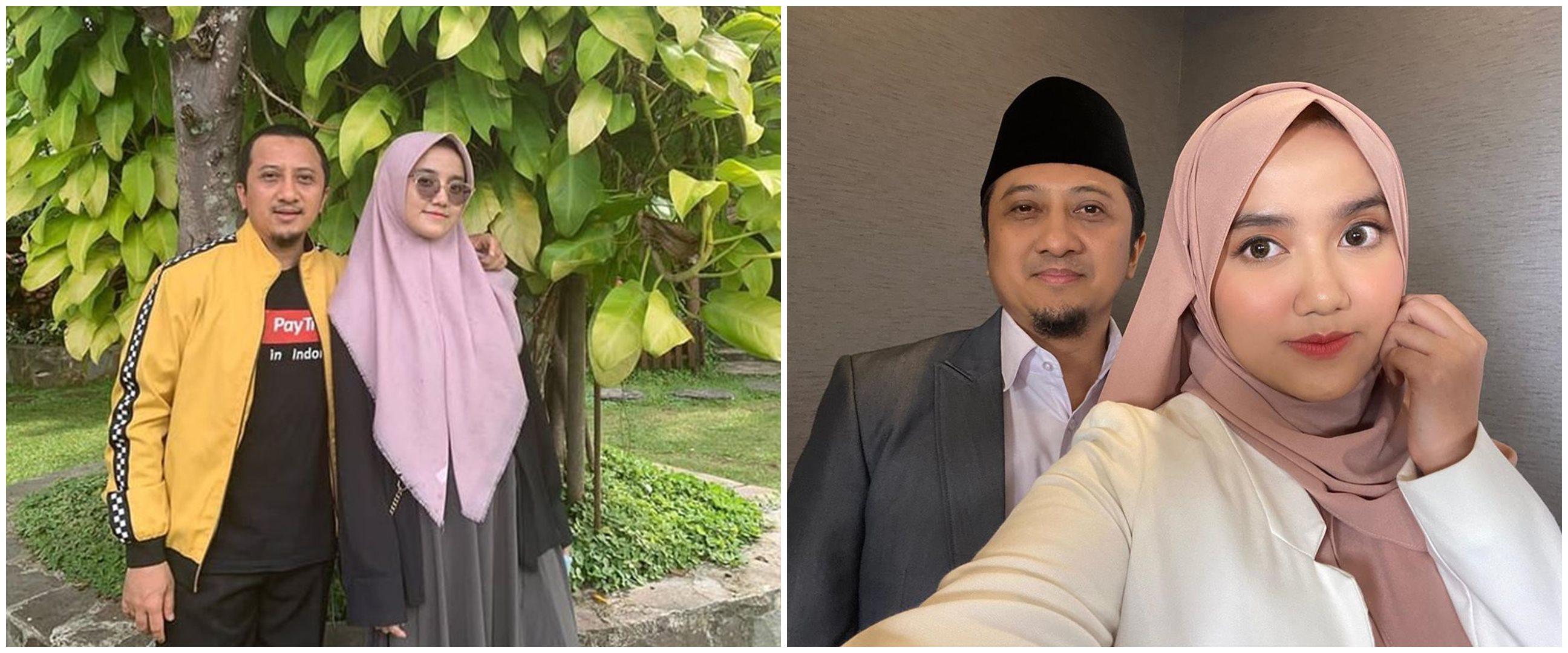 10 Potret kebersamaan Ustaz Yusuf Mansur & Wirda Mansur, kompak