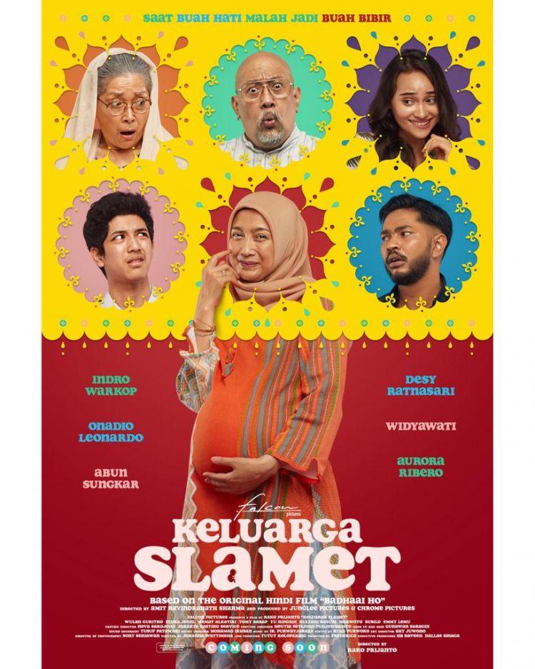 Keluarga Slamet, film pertama Indonesia diadaptasi dari Bollywood