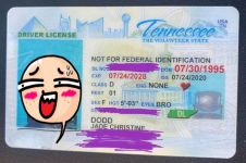 Tanpa wajah, pasfoto SIM wanita ini bikin tepuk jidat
