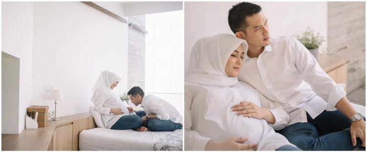 8 Potret maternity Citra Kirana & Rezky Aditya, seperti prewedding