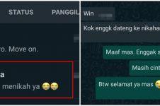 10 Chat ketika mantan menikah, diam-diam bikin sakit tak berdarah