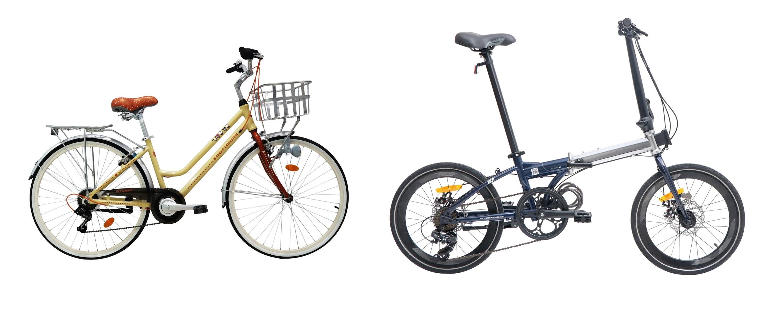 Harga sepeda urban Element di bawah Rp 3 juta dan spesifikasinya
