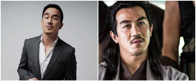 7 Potret Joe Taslim syuting film Korea The Swordsman, tampil gondrong