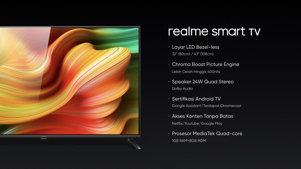 realme Smart TV, desain layar tipisnya bak nonton bioskop di rumah Istimewa