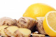 6 Manfaat kombinasi jahe & lemon untuk kesehatan, cegah batu ginjal