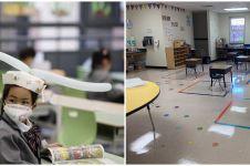 10 Potret ruang kelas di era new normal, unik dan inspiratif
