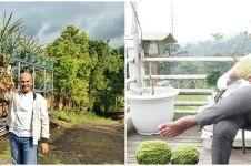 8 Potret terbaru Mark Sungkar, kini fokus jadi petani