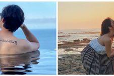 Gaya 8 seleb liburan di Bali, rambut Felicya Angelista curi perhatian