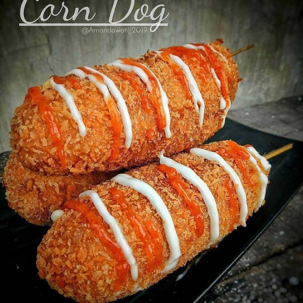 Resep dan cara membuat corndog berbagai sumber