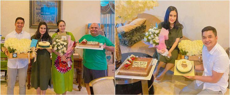 7 Momen Angbeen Rishi ultah ke-23, dapat kejutan dari suami & ayah