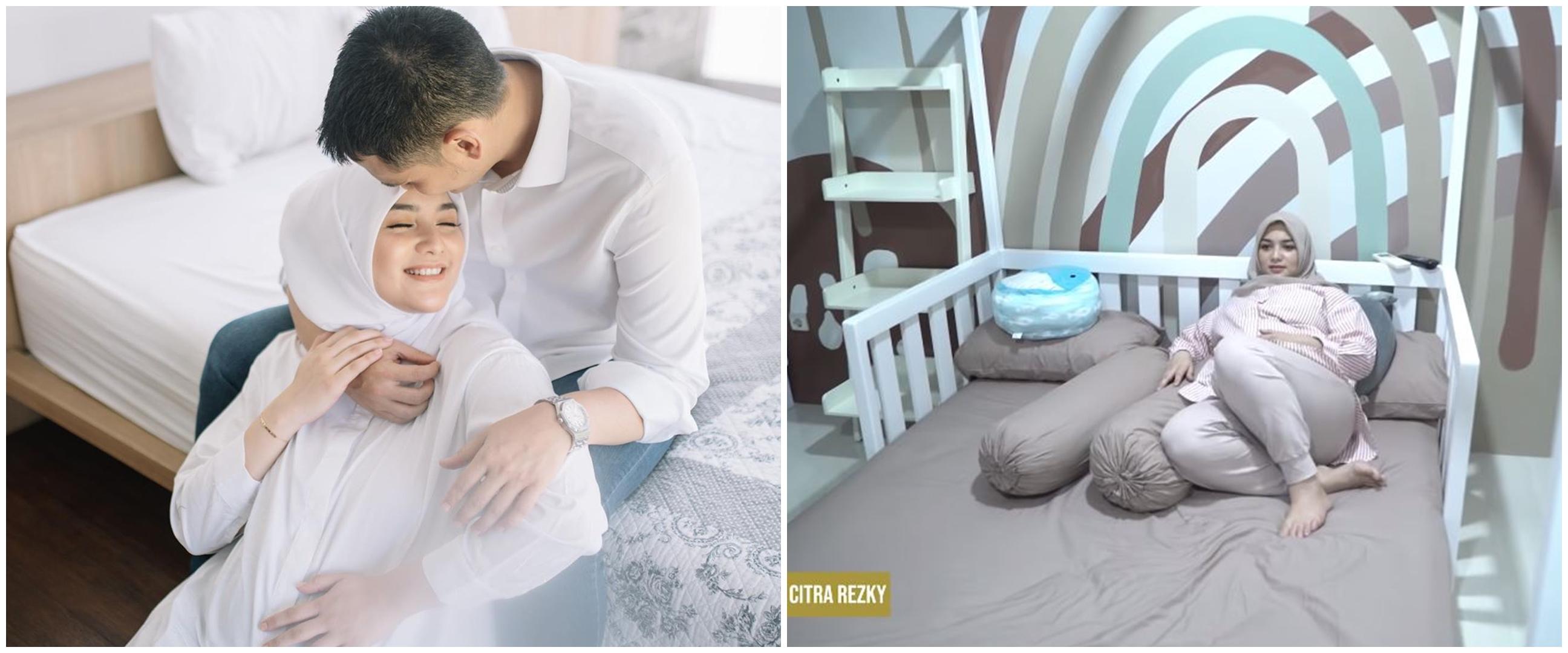 Satu hari jelang lahiran, intip 8 potret kamar bayi Citra Kirana