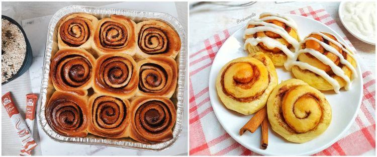 10 Resep cinnamon roll ala kafe, enak dan mudah dikreasikan