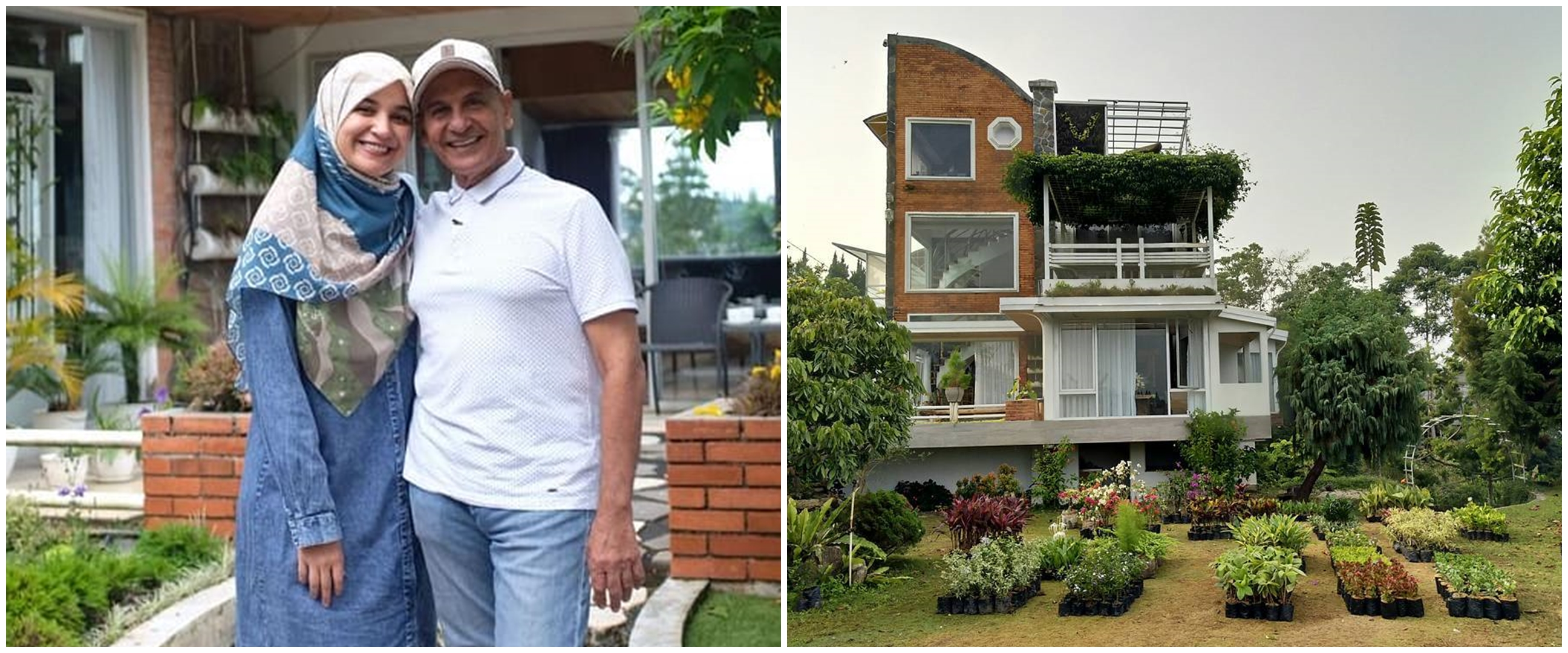 8 Potret rumah Mark Sungkar ayah Shireen Sungkar, bertingkat empat