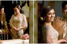 10 Potret serasi Amanda Manopo dan Billy Syahputra berbusana pengantin