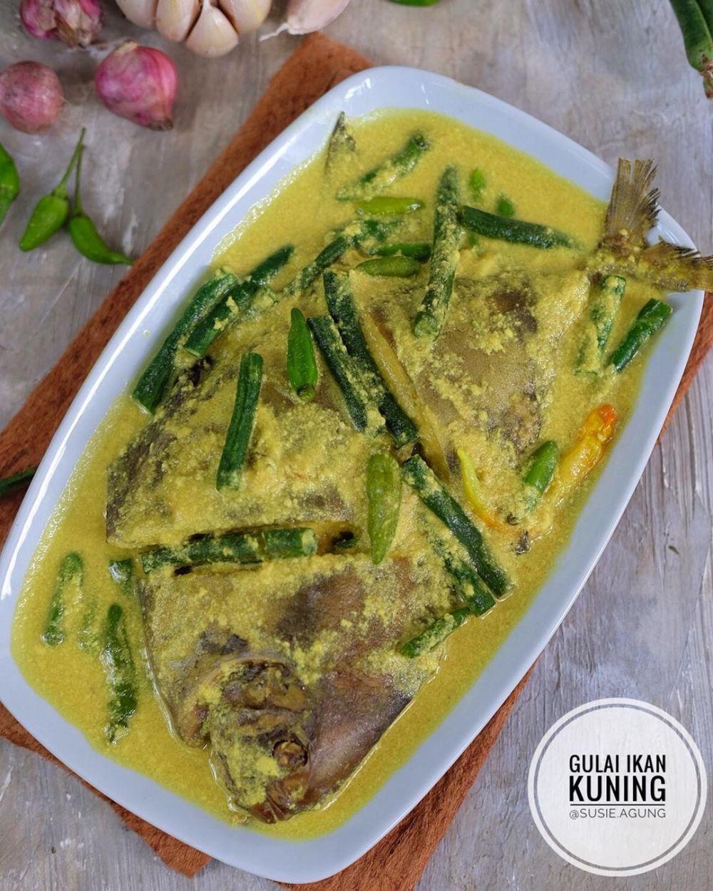 resep gulai ikan enak gurih  mudah dibuat Resepi Nasi Ayam Cabai Hijau Enak dan Mudah
