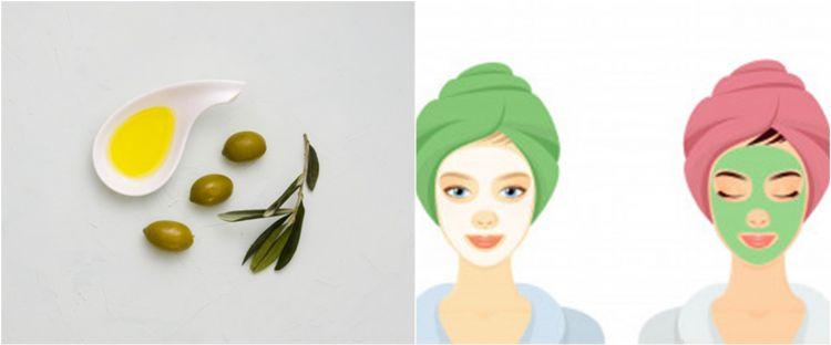 8 Cara Membuat Masker Dari Minyak Zaitun Melembapkan Kulit