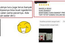 10 Review bintang 5 di online shop, endingnya malah curhat soal cinta