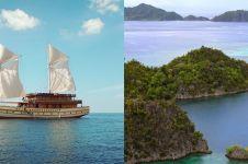 Menikmati Taman Nasional Komodo & Raja Ampat pakai kapal pinisi mewah