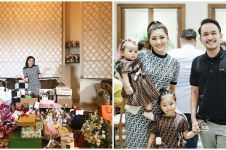 8 Momen perayaan ulang tahun Sarwendah ke-31, dapat kado segunung