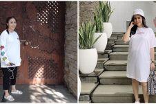 11 Potret area outdoor rumah Momo Geisha, berkonsep ala resort