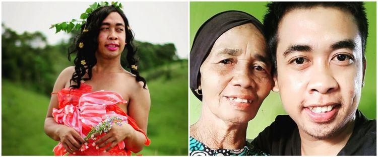 Nabung 4 tahun, Mimi Peri bangun rumah untuk ibunya di kampung