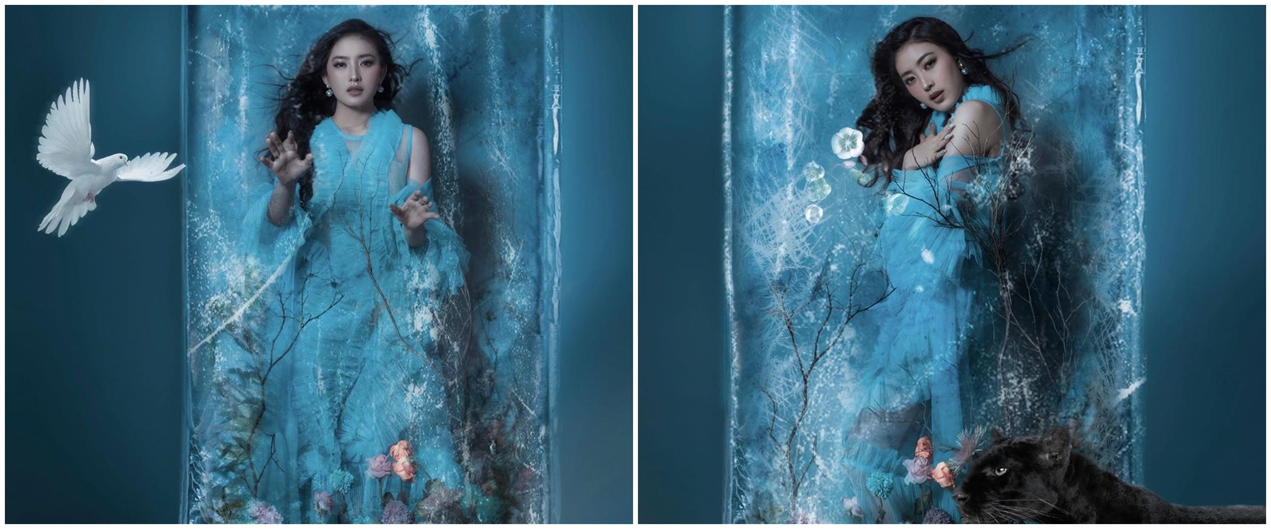 7 Potret terbaru Natasha Wilona, ekspresi dinginnya tuai pujian