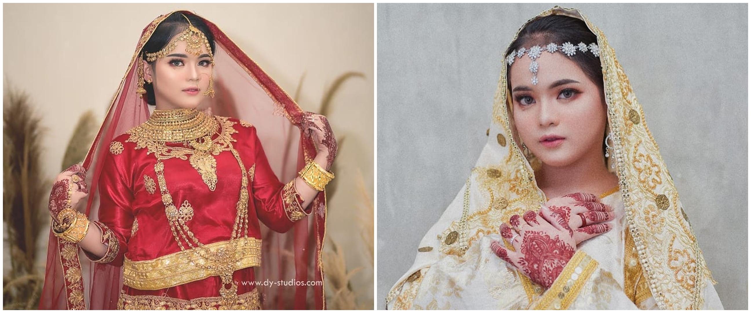 10 Pemotretan Putri D'Academy pakai kain sari, bak seleb Bollywood