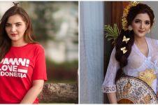 7 Potret Ashanty pakai baju adat kebaya Bali, pesonanya terpancar