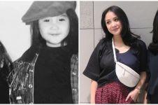 6 Potret masa kecil Nagita Slavina dan Caca Tengker, bak kembar