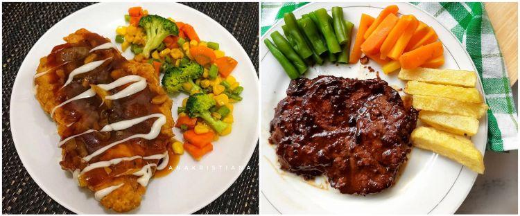 8 Resep kreasi steak berbagai bahan, nikmatnya ala hotel berbintang