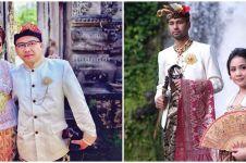Potret 7 pasangan seleb pakai baju Bali, Annisa Pohan curi perhatian
