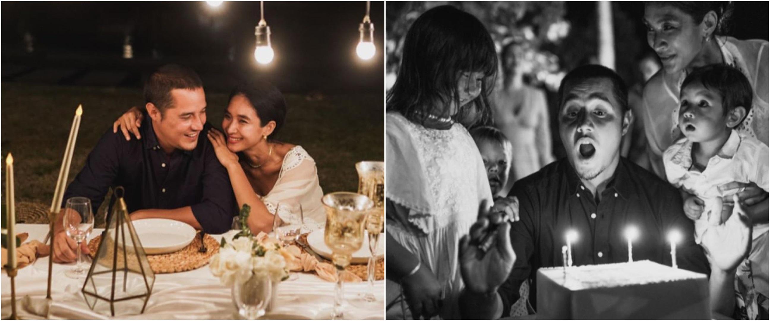 8 Momen hangat perayaan ulang tahun ke-40 suami Happy Salma