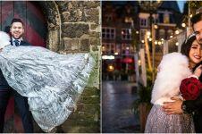 10 Potret prewedding Chef Marinka dengan kekasih, mesra abis