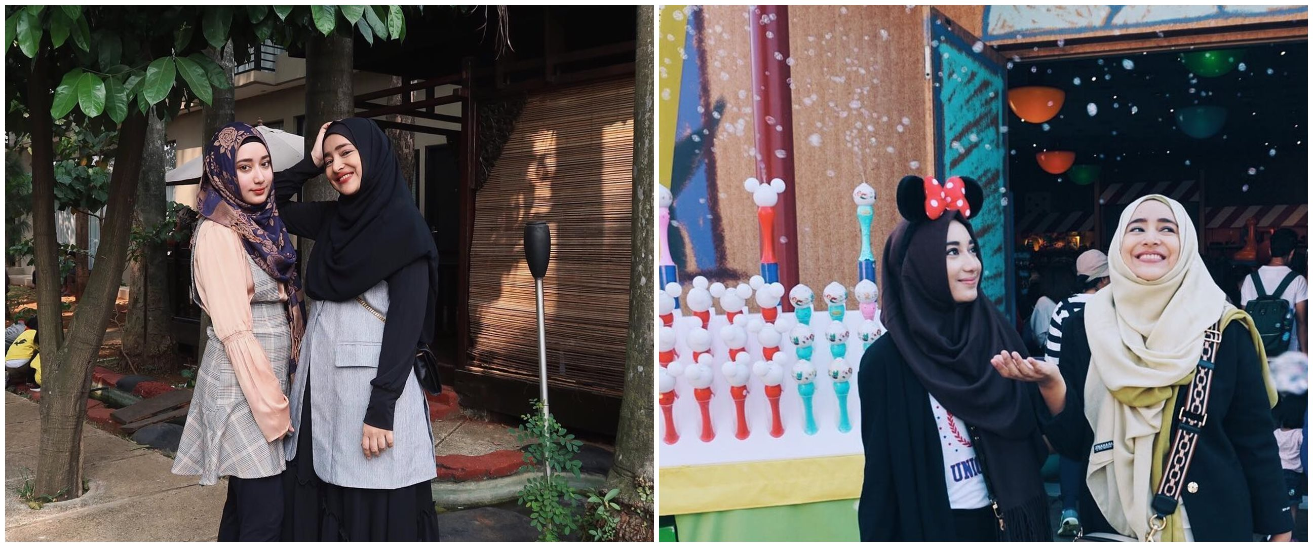 10 Potret Cindy Fatikasari & Tengku Syaira, bak pinang dibelah dua
