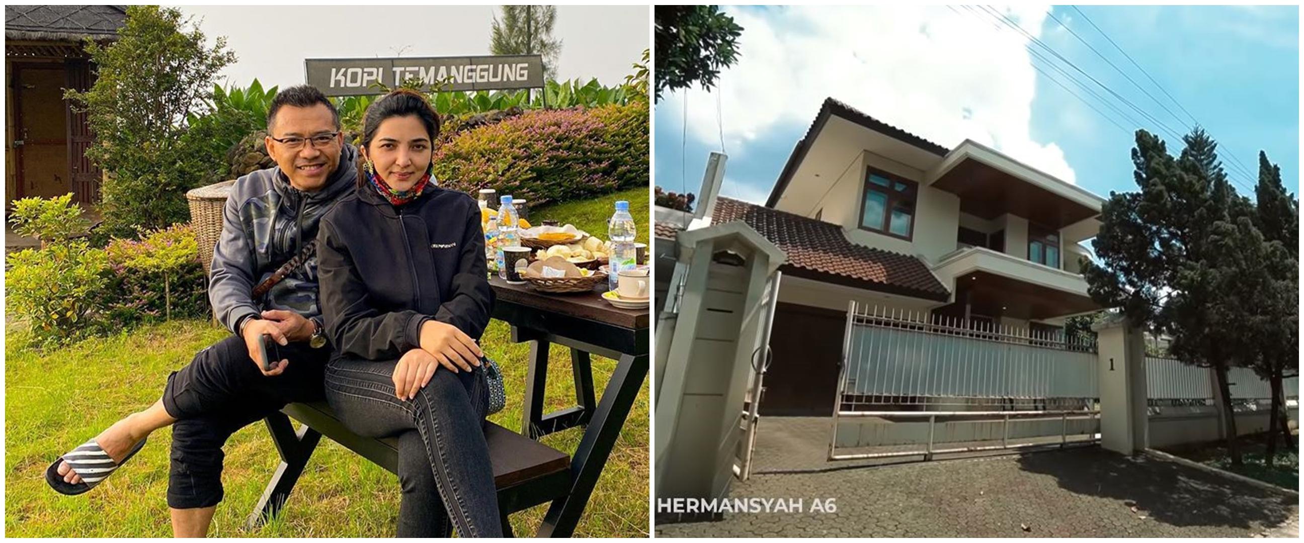 10 Potret rumah baru Anang & Ashanty, halaman luas dan asri