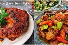 8 Resep ayam bumbu rujak, enak, sederhana, dan praktis