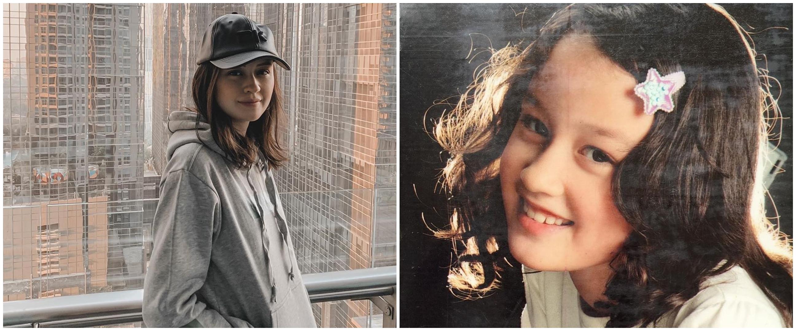 10 Potret masa kecil Kimberly Ryder, bukti cantik sedari dulu