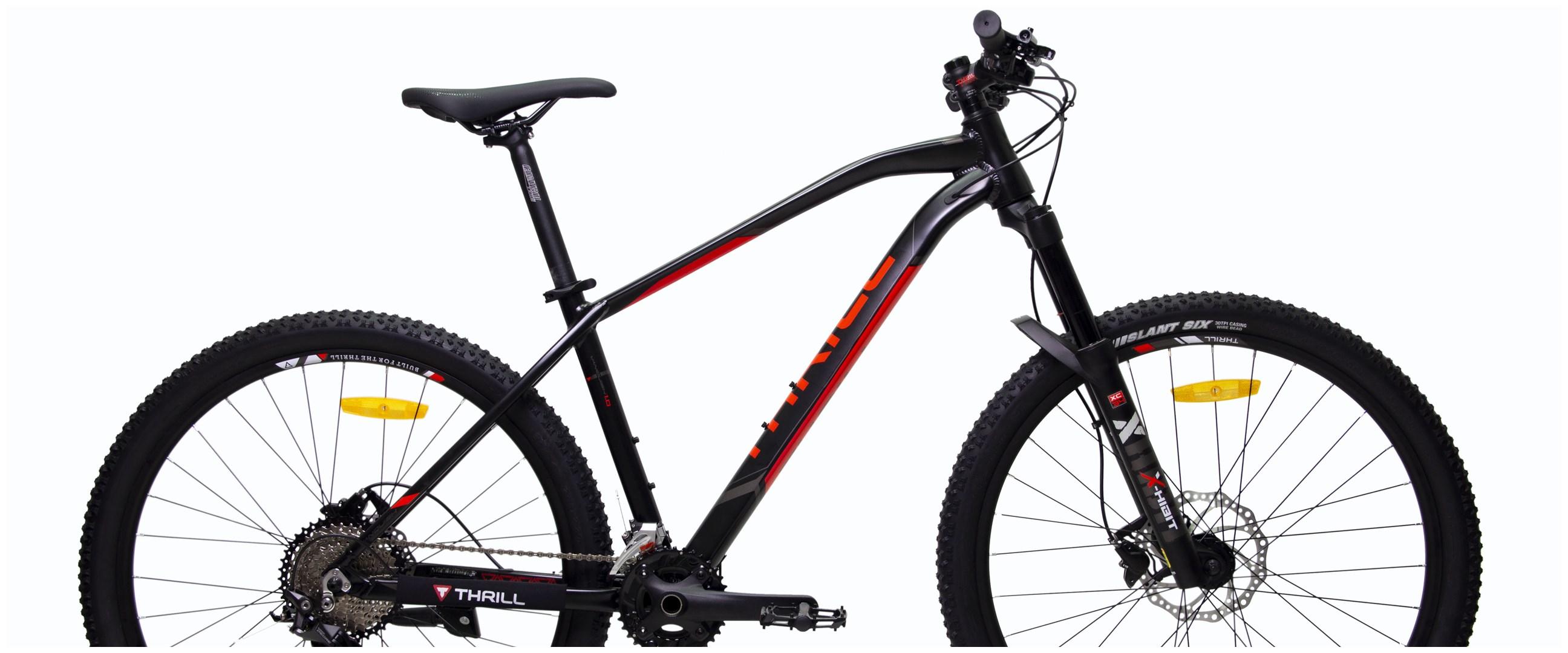 Harga sepeda gunung Thrill Vanquish dan spesifikasi, keren dan gesit