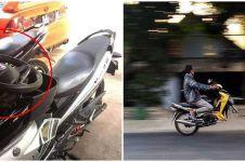 10 Ide kreatif pakai sepeda motor ini bikin geleng kepala