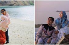 10 Momen liburan Ustaz Solmed & istri, bak pengantin baru