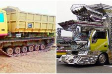 9 Potret modifikasi truk ini absurdnya bikin gagal paham