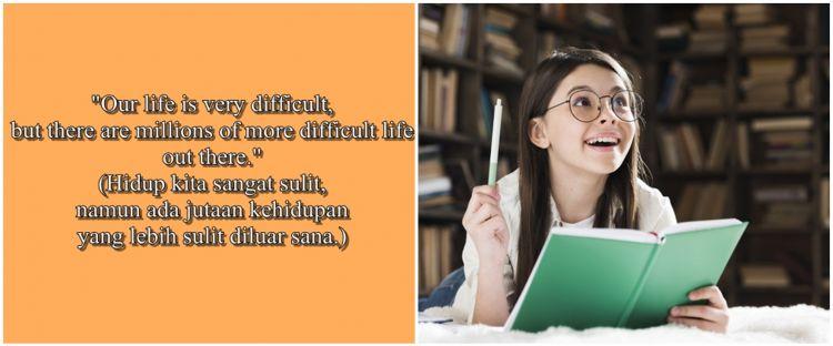 60 Kata-kata bijak simpel bahasa Inggris dan artinya ...