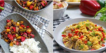 8 Resep olahan paprika ala restoran, enak, sehat dan mudah dibuat